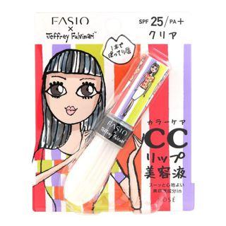 ファシオ ファシオ Fasio フルプランプ リップエッセンス CC II SPF25 PA+ クリア・001 6gの画像
