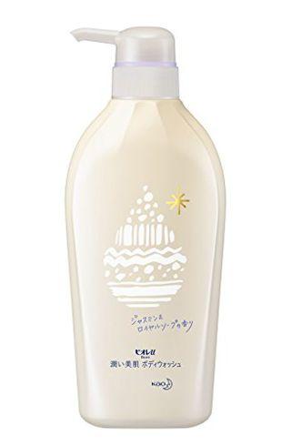 ビオレu ビオレu Biore u 潤い美肌ボディウォッシュ 本体 480ml ジャスミン&ロイヤルソープの香りの画像