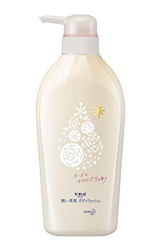 ビオレu ビオレu Biore u 潤い美肌ボディウォッシュ 本体 480ml ローズ&ホワイトブーケの香りの画像