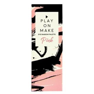 プレイオンメイク アイシャドウパレット ピンク 82gの画像