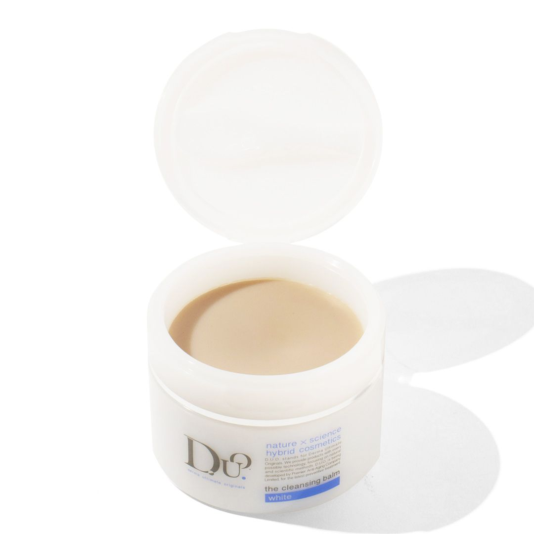 デュオ D.U.O. ザ クレンジングバーム ホワイト 90g カミツレ花精油の香りのバリエーション2