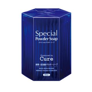 Cure スペシャル パウダー ソープ キュア 0.6g×35包の画像