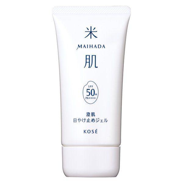 米肌の米肌 MAIHADA 澄肌日やけ止めジェル 本体 80g 無香料に関する画像1
