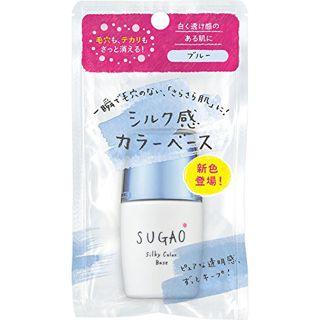 SUGAO シルク感カラーベース ブルー  生産終了 20ml SPF20 PA+++の画像