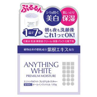 天真堂 エニシングホワイト プレミアムモイスチャー 120gの画像