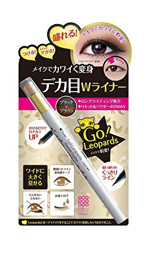 明色の明色化粧品 Meishoku Go!Leopards ドラマティックアイライナーに関する画像1
