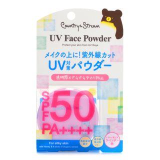 カントリー&ストリーム UVフェイスパウダー ラベンダー色 数量限定 5.5g SPF50 PA++++の画像