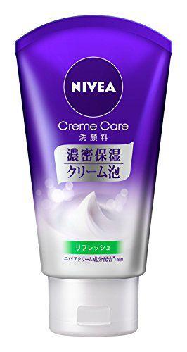 ニベア ニベア NIVEA ニベア クリームケア洗顔料 リフレッシュの画像