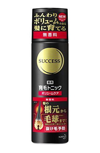 花王 サクセス SUCCESS 薬用育毛トニックボリュームケア 無香料の画像