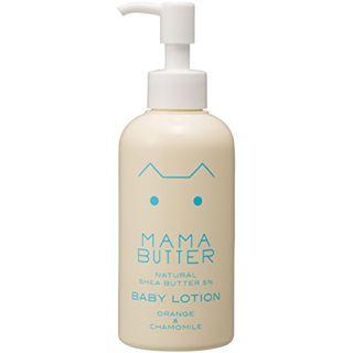 ママバター ママバター MAMA BUTTER ベビローション 180mlの画像