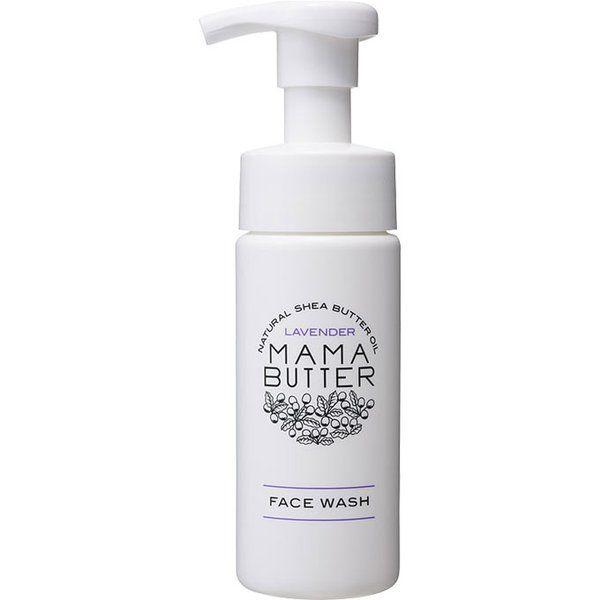 ママバターのフェイスウォッシュ オーガニックラベンダーの香り 150mlに関する画像1
