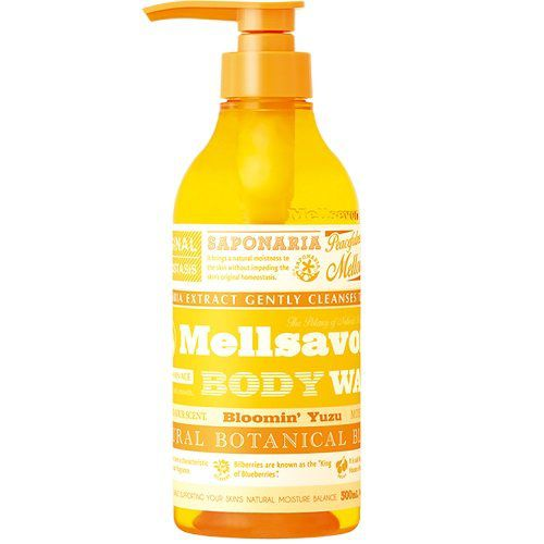メルサボンのメルサボン Mellsavon ブルーミングユズ モイスト ボディウォッシュ 500mlに関する画像1