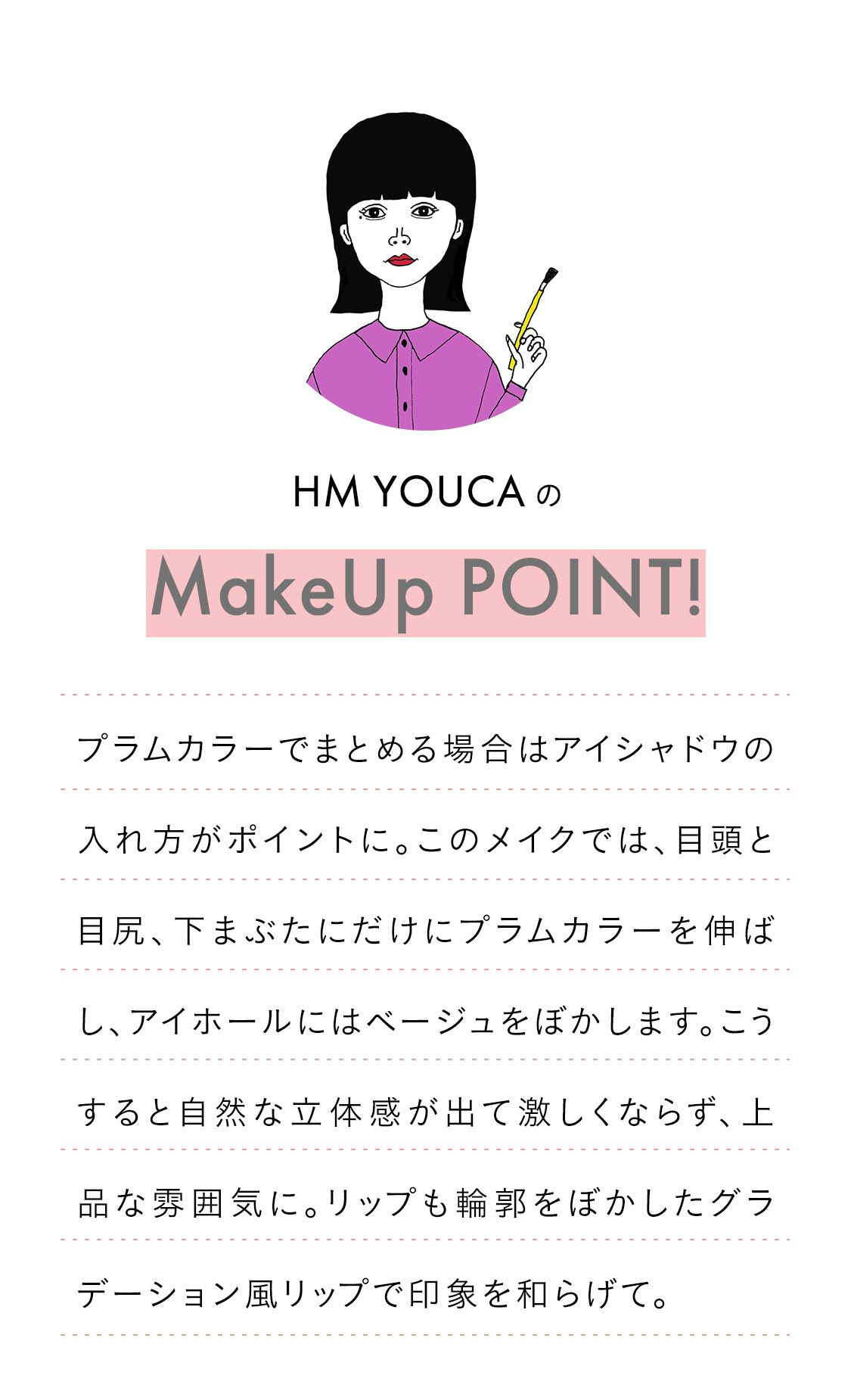 youca's makeup point