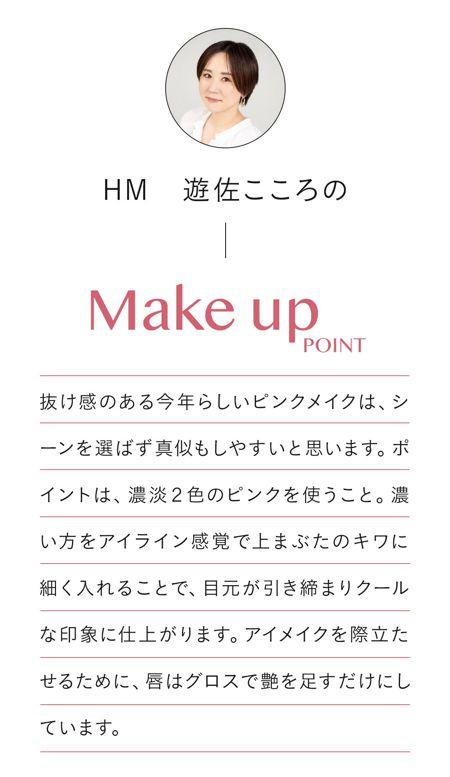 HM 遊佐こころのMake Up Point!