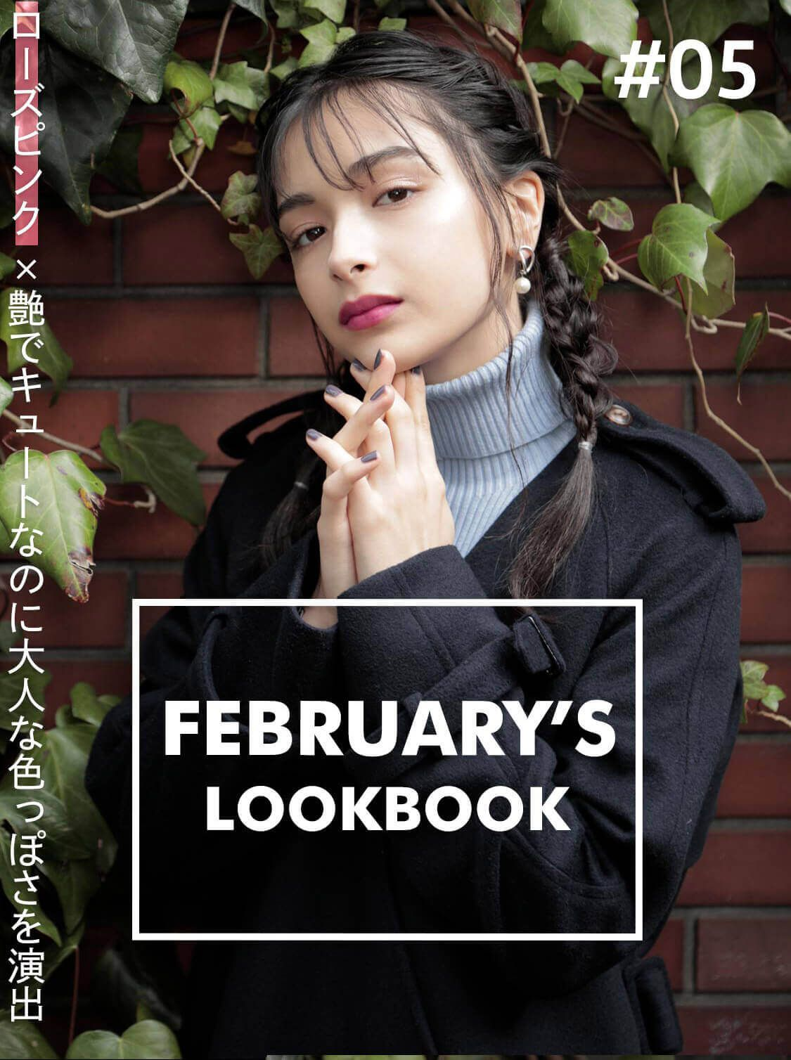 FEBRUARY'S LOOKBOOK vol.5