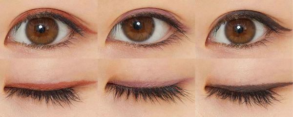 (左から)『01ダスティーオレンジ』、『05 ダスティーピンク』、『06 グレイッシュブラウン』