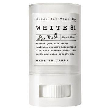 WHITE81 トーンアップスティック