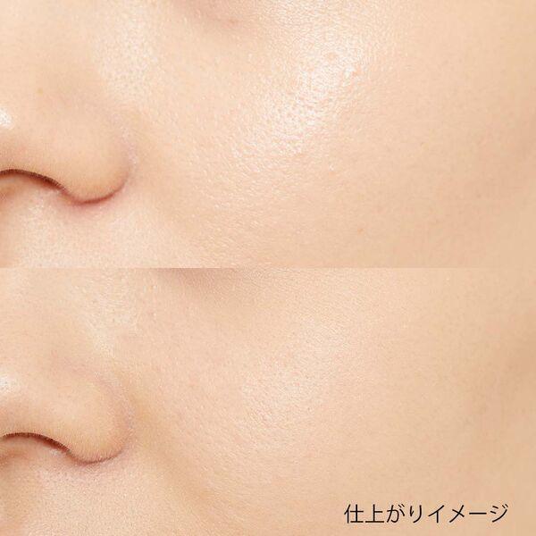 エクセルのフェイスパウダーで透明感のある肌に♡ 2種類のカラーを比較の画像