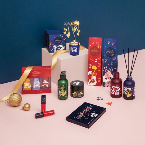 【グリーンホリデー】innisfree 2019ホリデーコレクションはクリスマスのポップなデザインにワクワクする!の画像
