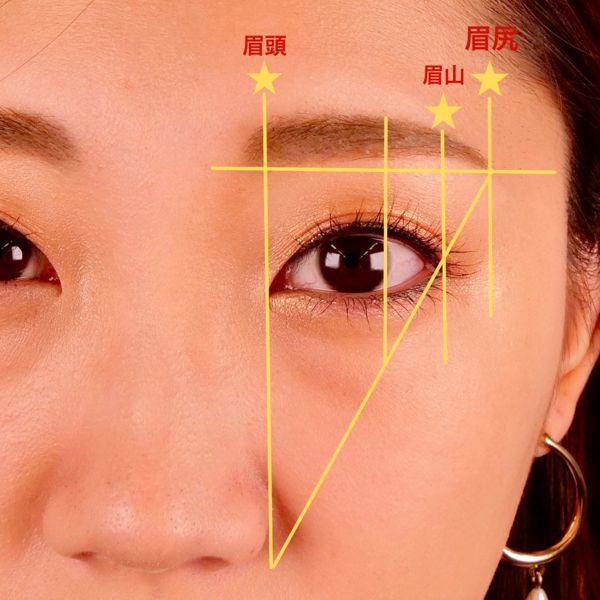 眉毛で顔の印象は決まる!メイクで重要な眉毛の整え方と描き方の画像