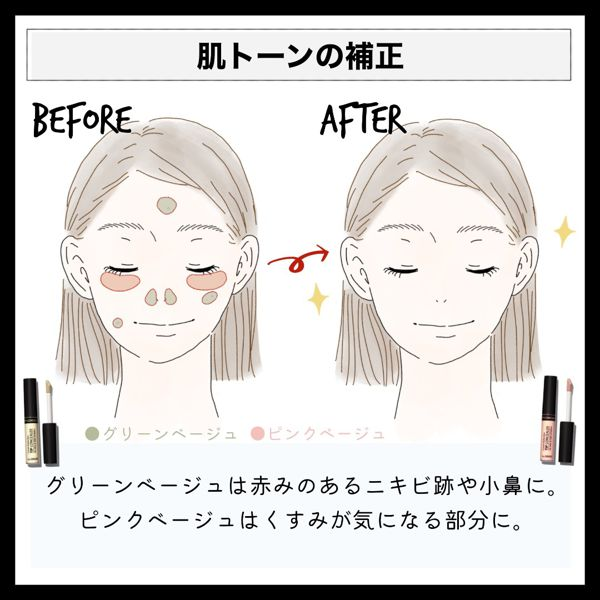 the SAME(ザセム)のコンシーラーの色選びや使い方を徹底解説!の画像