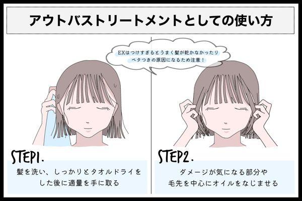 アミノメイソンのヘアオイルはどっちがいい?2種類の違いを徹底比較の画像