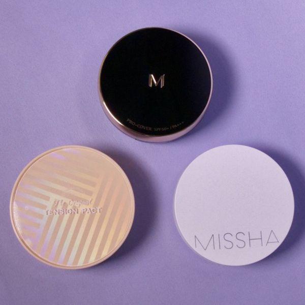 ミシャのクッションファンデのコスパがよすぎる! 全種類の特徴や魅力を紹介の画像