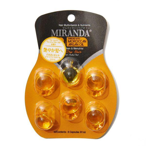 【全種レポ】ミランダのヘアオイルが話題!種類別に効果を徹底比較してみた♡ 【医療監修】の画像